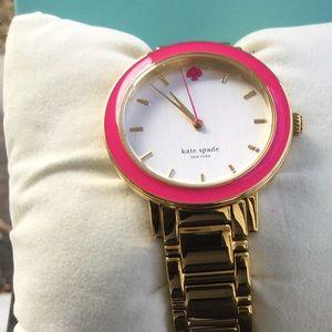 Kate Spade Gramercy Bazooka Pink Watch